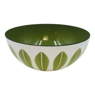 "1960s Mid-Century Modern Enamelware 8"" Catherineholm Lotus Bowl For Sale"