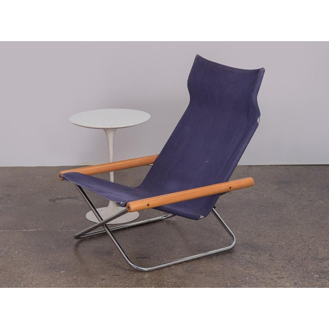 NY Folding Sling Chair by Takeshi Nii For Sale - Image 9 of 10