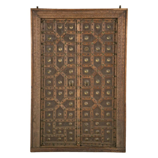 Antique African Doors - A Pair For Sale - Image 12 of 12
