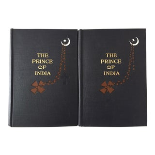 Antique Books the Prince of India Volumes I & II, 1902 - A Pair
