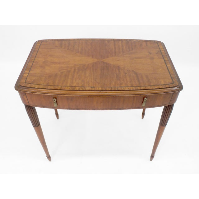 1930s Art Deco Period Side Table For Sale - Image 5 of 6
