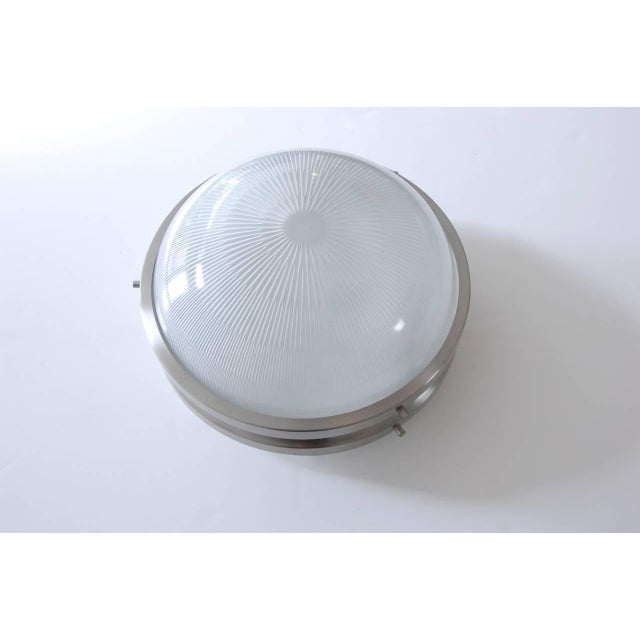 Glass Sergio Mazza for Artemide Flush Mount or Wall Mount Fixtures For Sale - Image 7 of 10