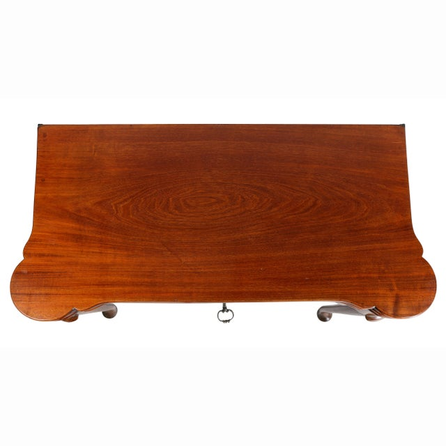 English George II Mahogany Triple Top Games Table For Sale - Image 3 of 12