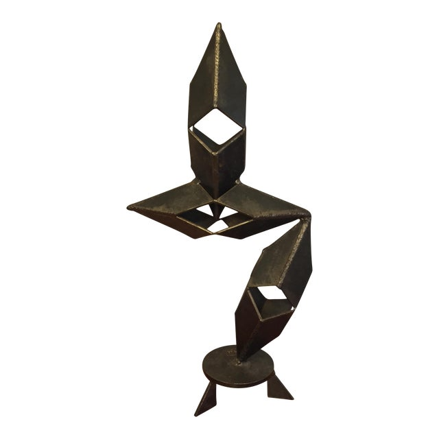 Mid-Century Modern Signed Sculpture - Image 1 of 11