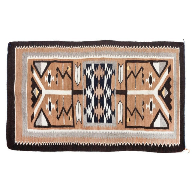 "1960s Vintage Navajo Pictorial Rug-2'4'x3'8"" For Sale - Image 13 of 13"