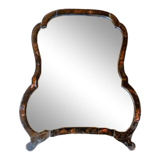 Chinoiserie Easel Dressing Mirror For Sale