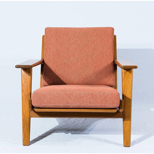 Hans Wegner GE-290 Lounge Chair Designed In 1953 and Produced by Getama. Store formerly known as ARTFUL DODGER INC
