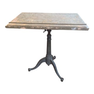 1910s Vintage Drafting Table For Sale