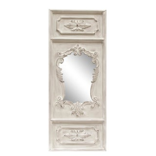 Angelique French Trumeau Style Accent Mirror For Sale