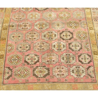 Early 20th Century Antique Khotan Handmade Rug - 5′8″ × 10′5″ - Size Cat. 6x9 7x10 Preview