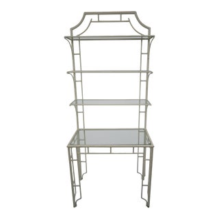 Pagoda Metal Etagere For Sale