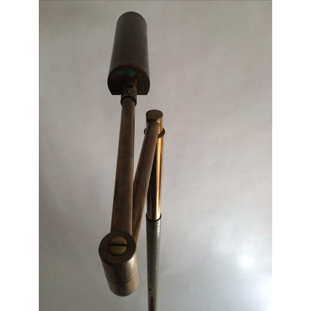 Koch + Lowy Brass Floor Lamp - Image 4 of 9