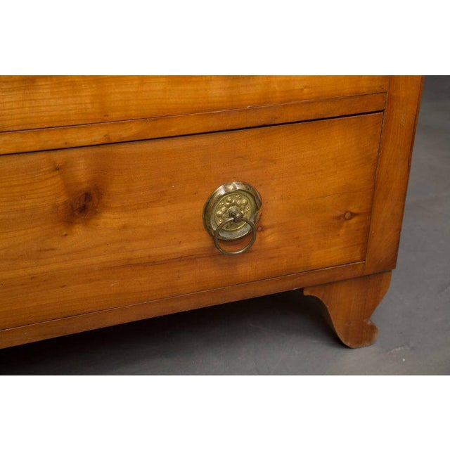 19th Century Cherrywood Biedermeier Chest of Drawers - Image 5 of 10
