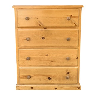 1960's Vintage Pine Wood HighBoy For Sale