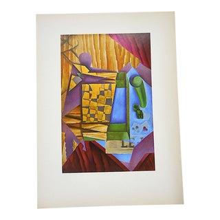 Vintage Mid 20th C. Post-Impressionist Lithograph-Juan Gris-Folio Size For Sale