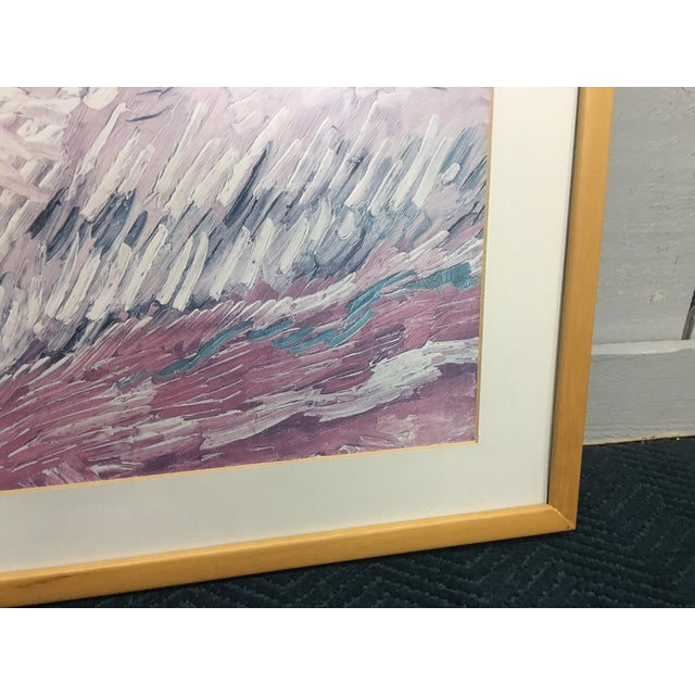 Oblong Abstract Framed Picture - Image 7 of 7