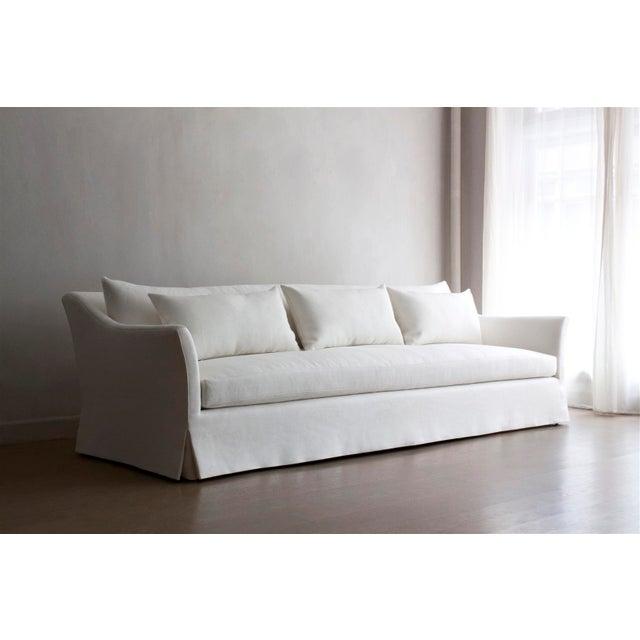 White Seine III Sofa For Sale - Image 8 of 8