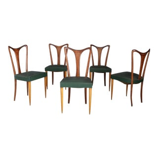 6 Chairs by Guglielmo Ulrich From 1940. For Sale