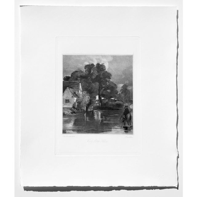 John Constable & David Lucas Mezzotint Collection From the Tate Gallery in London 1990's - Set of 16 For Sale In Providence - Image 6 of 14