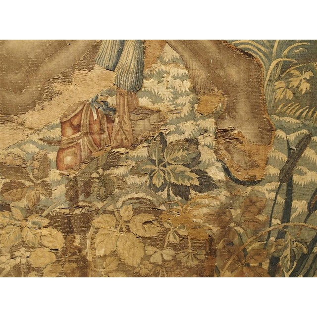 Large 17th Century Flanders Tapestry Depicting a Roman Scene For Sale - Image 12 of 13