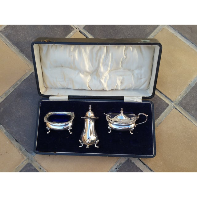 Silver Salt Servers - Set of 3 - Image 2 of 4