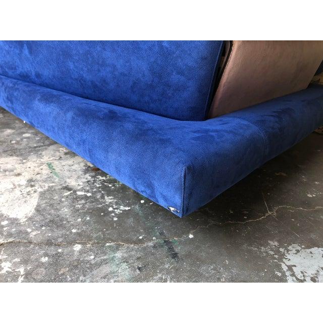 Post Modern Giorgio Saporiti Memphis Style Sofa For Sale - Image 11 of 13