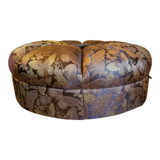 Modern Marge Carson Garbo Ottoman For Sale