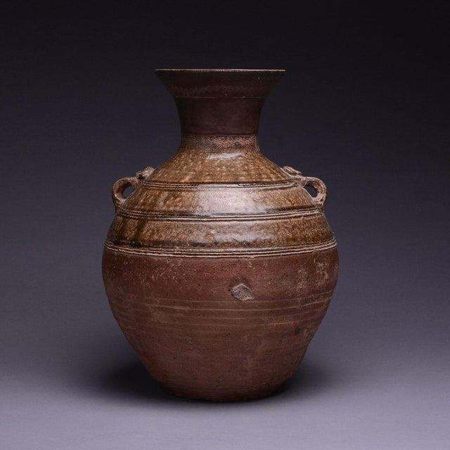 Warring States Glazed Terracotta Hu For Sale In Los Angeles - Image 6 of 6