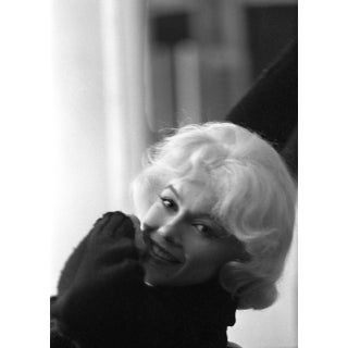 Marilyn Monroe Photograph in Black Sweater by Lawrence Schiller, 32/75 For Sale