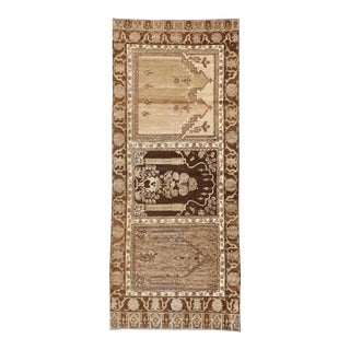 Vintage Turkish Anatolian Prayer Saph Runner - 03'02 X 07'07 For Sale