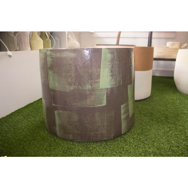 Contemporary XL Brussels Ceramic Planter For Sale - Image 3 of 8