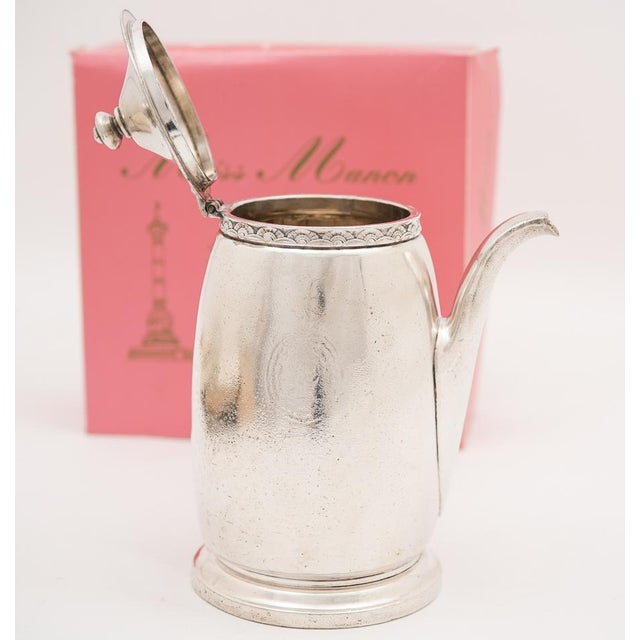 Hotel Pierre NYC Handled Coffee Pot, 1954 - Image 5 of 7