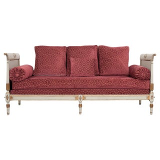 French 19th Century Neoclassical Style Daybed For Sale