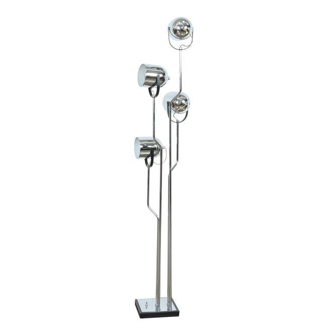 Reggiani Four Arm Chrome Floor Lamp - Image 1 of 7