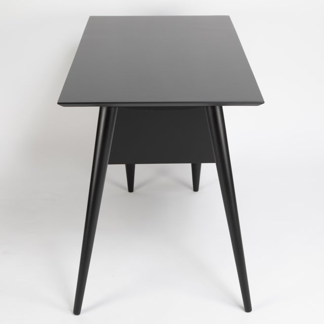 Paul McCobb Desk With Tapered Legs C. 1950s For Sale - Image 9 of 13