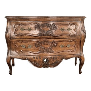 Antique 18th Century Louis XV Provencal Bombe Chest For Sale