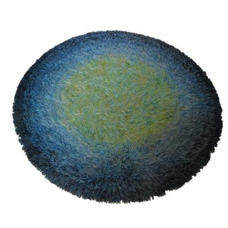 Round Rya Rug For Sale