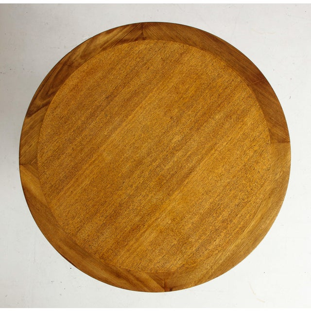 Wood Edward Wormley for Dunbar End Table For Sale - Image 7 of 10