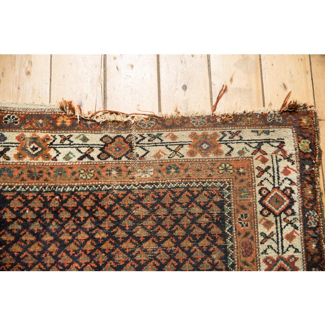 "1920s Vintage Hamadan Rug - 3'7"" X 6' For Sale - Image 5 of 12"