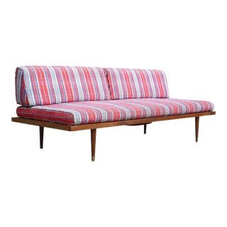Vintage 1960's Mid Century Modern Adrian Pearsall Daybed Sofa Couch For Sale