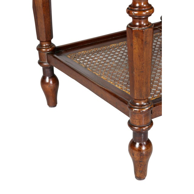 Matching Charles X Mahogany End Tables - a Pair For Sale - Image 10 of 12