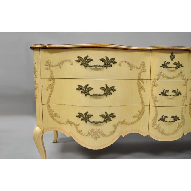 John Widdicomb Early 20th Century Antique John Widdicomb French Provincial Style Credenza For Sale - Image 4 of 13