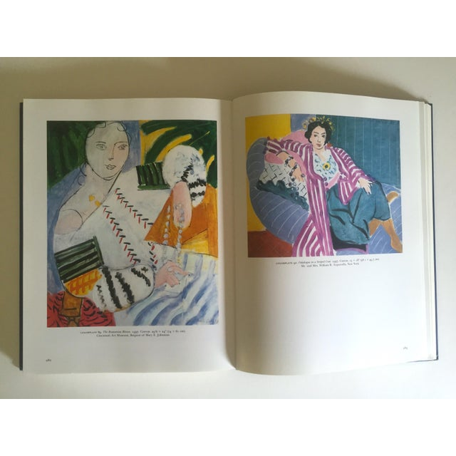 """"""" Matisse Retrospective """" Rare 1990 Iconic Oversized Volume Collector's Hardcover Art Book For Sale - Image 10 of 13"""