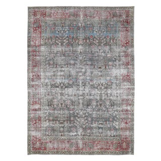 """Early 20th Century Antique Persian Rug-7'8'x10'7"""" For Sale"""