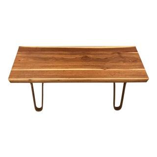 1950s Mid-Century Modern Edward Wormley for Dunbar Long John Bench For Sale