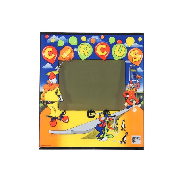 R&n Circus Pinball Backglass - Image 1 of 3