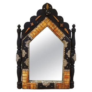 Moroccan Inlay Wall Mirror For Sale