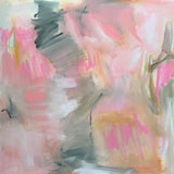 """Image of """"Boudoir"""" by Trixie Pitts Large Abstract Expressionist Oil Painting For Sale"""