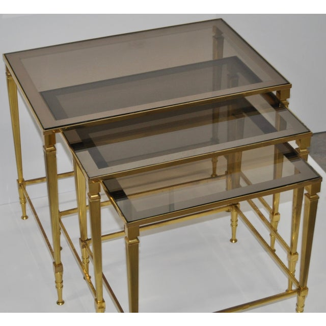 Mid-Century French Nesting Tables - Set of 3 - Image 4 of 4