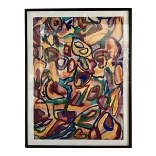 Modern Contemporary Framed Art Print by Dawn Leahy For Sale